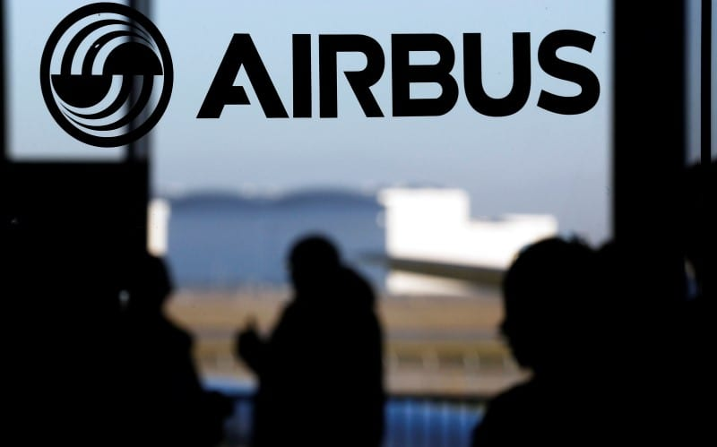 Airbus shares