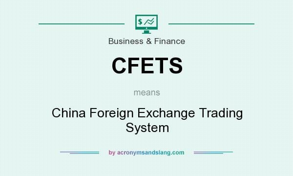 China foreign exchange trading system