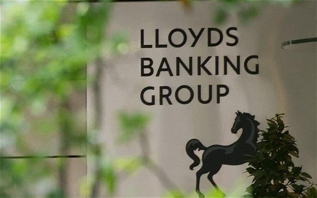 Lloyds shares