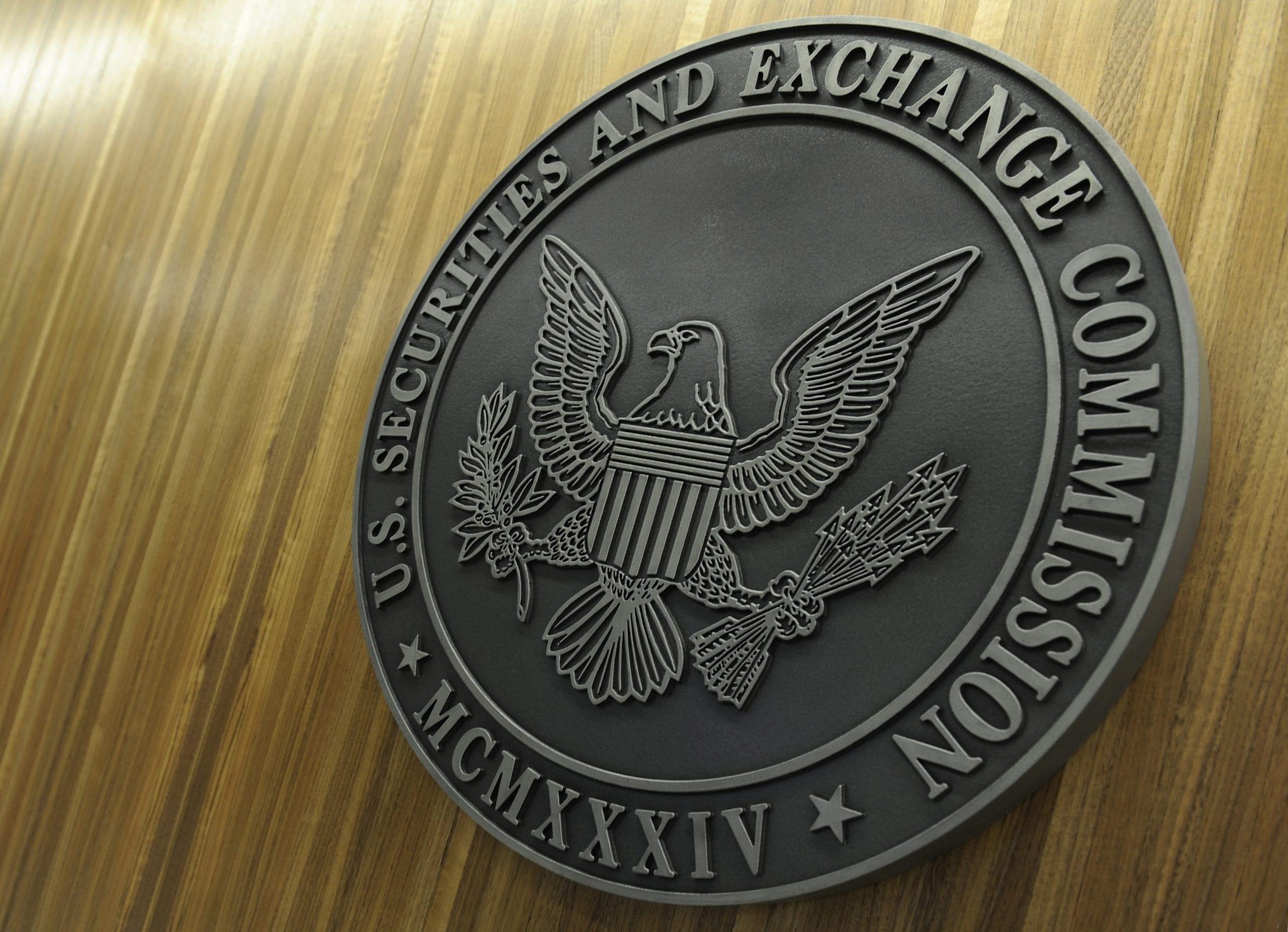 SEC seal in Washington