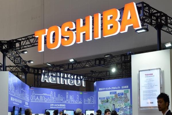 Toshiba shares