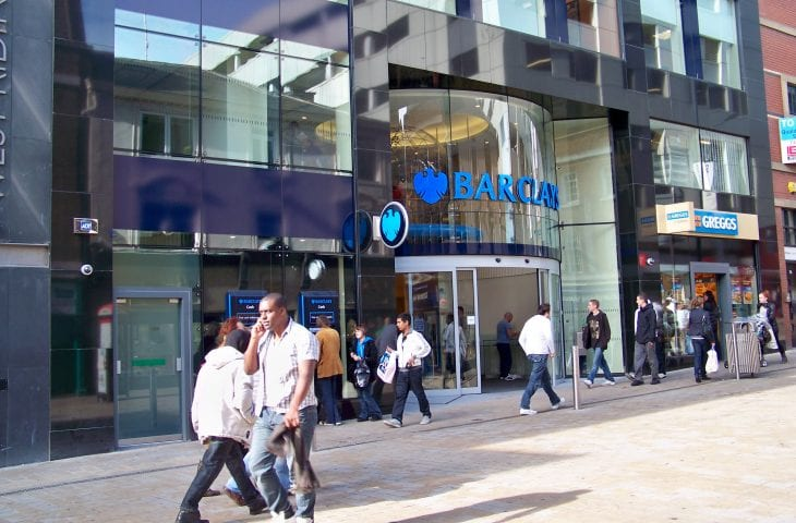 Barclays suffers