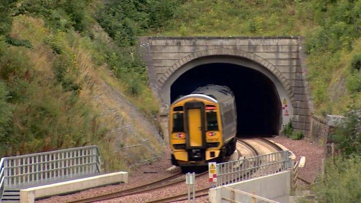 Rail travel surpasses